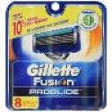 Deals List: Gillette Fusion Proglide Manual Razor Blade Refills for Men, 8 Count