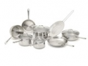 Deals List: Emeril by All-Clad 2100058159 PRO-CLAD Tri-Ply Stainless Steel 12-Pc Cookware Set