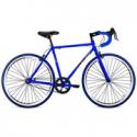 Deals List: 700c Thruster Fixie Men's Bike with Drop Bars, Blue