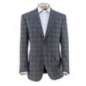 Deals List: Traveler Wool Tailored Fit 2-Button Sportcoat Extended Sizes