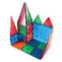 Deals List: Picasso Tiles 60 piece Set Magnet Building Tiles Clear 3D Blocks