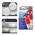 Deals List: UP TO 41% OFF SELECT HOME SAFETY ALARMS & EXTINGUISHERS