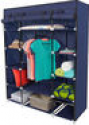 Deals List: 53 inch Portable Closet Storage Organizer Wardrobe Clothes Rack With Shelves