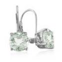 Deals List: 5ct Green Amethyst Leverback Earrings