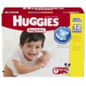 Deals List: Huggies Snug and Dry Diapers, Size 4, Economy Plus Pack, 192 Count