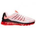 Deals List: Men's Nike Air Max 2015 Running Shoes, in White/Bright Crimson/Black