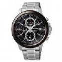 Deals List: Seiko SKS451P1 Men's Chrono Stainless Steel Black Bezel and Dial Watch
