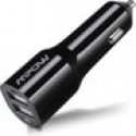 Deals List: Mpow® 6.0Amps 30W Dual USB Rapid Car Charger with Xsmart™ Technology, Charging Smartly and Automatically