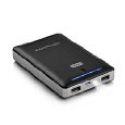 Deals List: RAVPower® 3rd Gen Deluxe 16000mAh Portable Charger with iSmart Technology (External Battery Pack, Power Bank, 4.5A Output, Dual USB, Apple 30pin and Lightning Cable Not Included) - Black