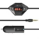 Deals List: iClever® In Car Universal Wireless FM Transmitter with USB Car Charger for Smartphone, MP3 MP4 and any Audio Player with 3.5mm Audio Jack