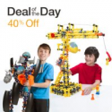 Deals List: 40% Off Select Building Toys from ZOOB