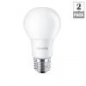 Deals List: Philips 60W Equivalent Soft White (2700K) A19 LED Light Bulb (2-Pack)