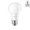 Deals List: Philips 60W Equivalent Soft White (2700K) A19 LED Light Bulb (2-Pack)