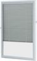 Deals List: ODL White Cordless Add On Enclosed Aluminum Blinds with 1/2 in. Slats, for 22 in. Wide x 36 in. Length Door Windows