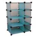 Deals List: Edsal 32.5 in. W x 32 in. H x 14.75 in. D Cube Storage Blue