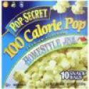Deals List: Pop Secret Snack Size 100 Calorie Homestyle, Microwavable Popcorn, 10-Count, 11.2-Ounce Box (Pack of 3)