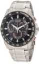 Deals List: Citizen Eco Drive Black Dial Chronograph Stainless Steel Mens Watch AT4008-51E