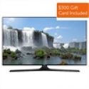 Deals List: Samsung UN50J6300AFXZA 50-inch Smart LED HDTV + FREE $200 eGift Card