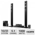 Deals List: Panasonic SC-BTT466 Blu-Ray Home Theater System - 5.1 Channels, 3D Blu-Ray Player, WiFi-Ready, Dolby Digital, Dolby Digital Plus, Dolby TrueHD, Bass-Reflex Speaker, USB