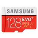 Deals List: Samsung 128GB MicroSDXC EVO+ Flash Card - With Adapter, Up To 80MB/s Transfer Speed, Class 10, UHS-I - MB-MC128DA/AM