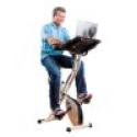 Deals List: FitDesk v2.0 Desk Exercise Bike with Massage Bar