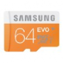 Deals List: Samsung 64GB EVO Class 10 Micro SDXC up to 48MB/s with Adapter (MB-MP64DA/AM)