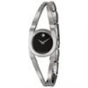 Deals List: Invicta 17482 Women's Angel Black Polyurethane Silver-Tone Dial Watch
