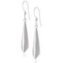 """Deals List: Sterling Silver Geometric Drop Earrings, 1.6"""""""