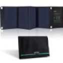 Deals List: Solar Panel, VINSIC 22W High Efficiency Solar Panel Foldable and Portable Dual-port Solar Charger (22W Solar Panel)