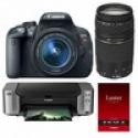 Deals List: Canon T5i DSLR Camera + 18-55mm STM Lens + Pro-100 Printer + Lowepro shoulder bag