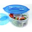 Deals List: Frigidaire Lunch Box Fresh Salad On The Go Ice Pack Dressing Compartment Cutlery
