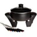 Deals List: West Bend 88533 3-Quart Electric Fondue Pot, Black