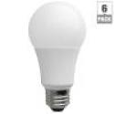 Deals List: 6-Pack TCP LA1050KND6 LED A19 60 Watt Equivalent Daylight Light Bulb