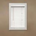 """Deals List: Richfield Studio 2"""" Faux Wood Blinds, White, 10x64 - 40.5x64"""
