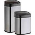 Deals List: ModernHome Motion Activated Anti Fingerprint Oval Trashcan Set