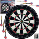Deals List: Trademark Games Pro Style Bristle Dart Board Set with 6 Darts and Board