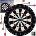 Deals List: Trademark Games Pro Style Bristle Dart Board Set with 6 Darts and Board