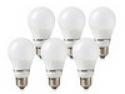 Deals List: Energetic Lighting A19 800 or 450 Lumen 8.2 Watt or 6 Watt LED Bulbs, 6-Pack - Extended Life