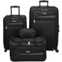 Deals List: IZOD Metro 3.0 4-pc. Expandable Spinner Upright Luggage Set