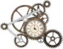 Deals List: Gear Wall Art with Clock