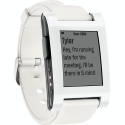 Deals List: Pebble - Smart Watch for Select iOS and Android Devices - White, Pre-Owned