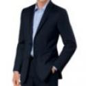 Deals List: Crossover Slim Fit 2-Button Suit with Plain Front Trousers