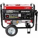 Deals List: DuroStar 4400 Watt Quiet Portable Recoil Start Gas Powered Generator