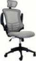Deals List: Techni Mobili High Back Executive Chair with Headrest (Silver, RTA-80X5-SG)