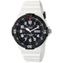 Deals List: Casio MRW200HC-7BV Dive Style 100M White Resin Day Date Mens Watch