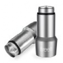 Deals List: Car Charger, Breett 12W 2.4A Dual-Port Rapid Stainless Steel USB Car Charger for iPhone 6 Plus, 6, 5S 5 4S, iPad, Samsung Galaxy, MOTO, Cellphones and USB Devices