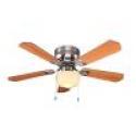 Deals List: Hampton Bay Middleton 42 in. Brushed Nickel Ceiling Fan UE42V-NI-SHB