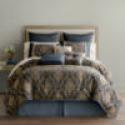 Deals List: Home Expressions Selina 7-pc. Jacquard Full Comforter Set
