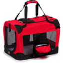 Deals List: Pet Life Extra Small 360-degree View Deluxe Red Pet Carrier