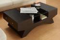 Deals List: Furniture of America Drexa Glass Insert Storage Coffee Table